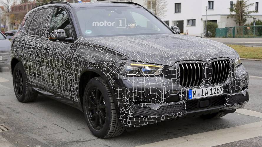 2019 BMW X5 Looks Aggressive In New Spy Shots