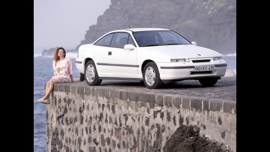 Opel Calibra, el coupé más exitoso de los años 90