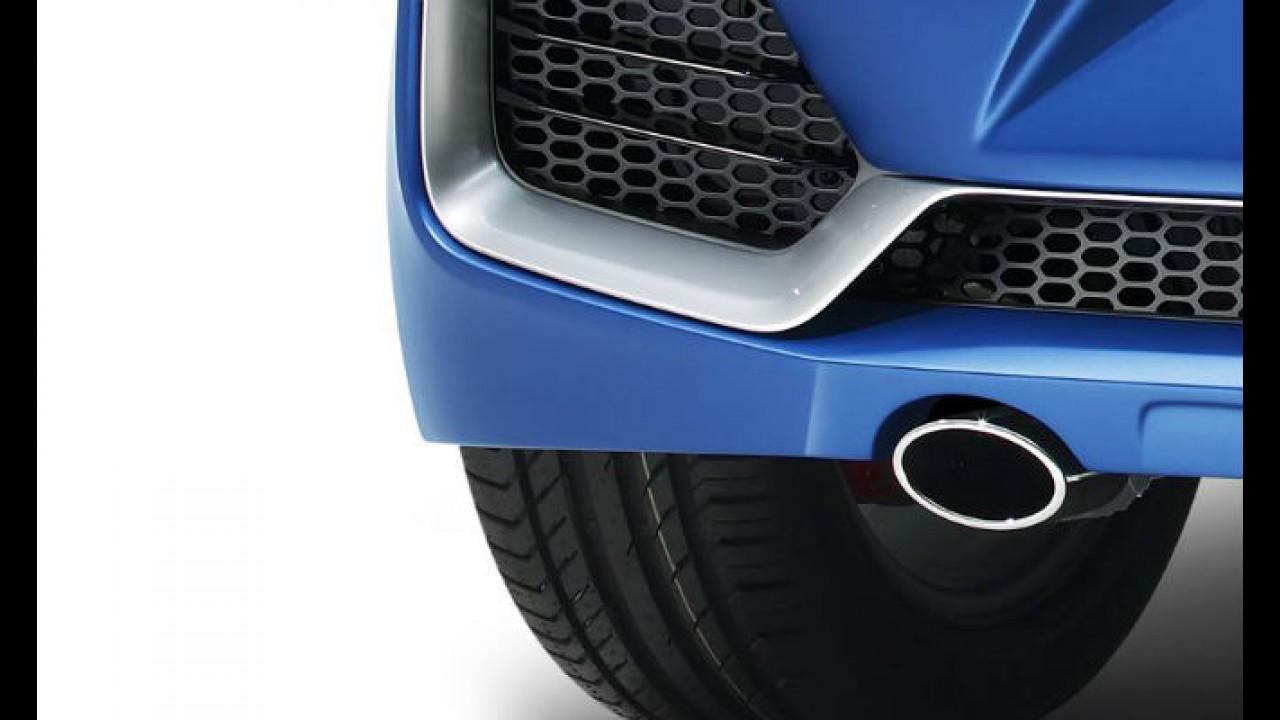 Hyundai mostra mais do HB20 R-Spec que estará no Salão do Automóvel