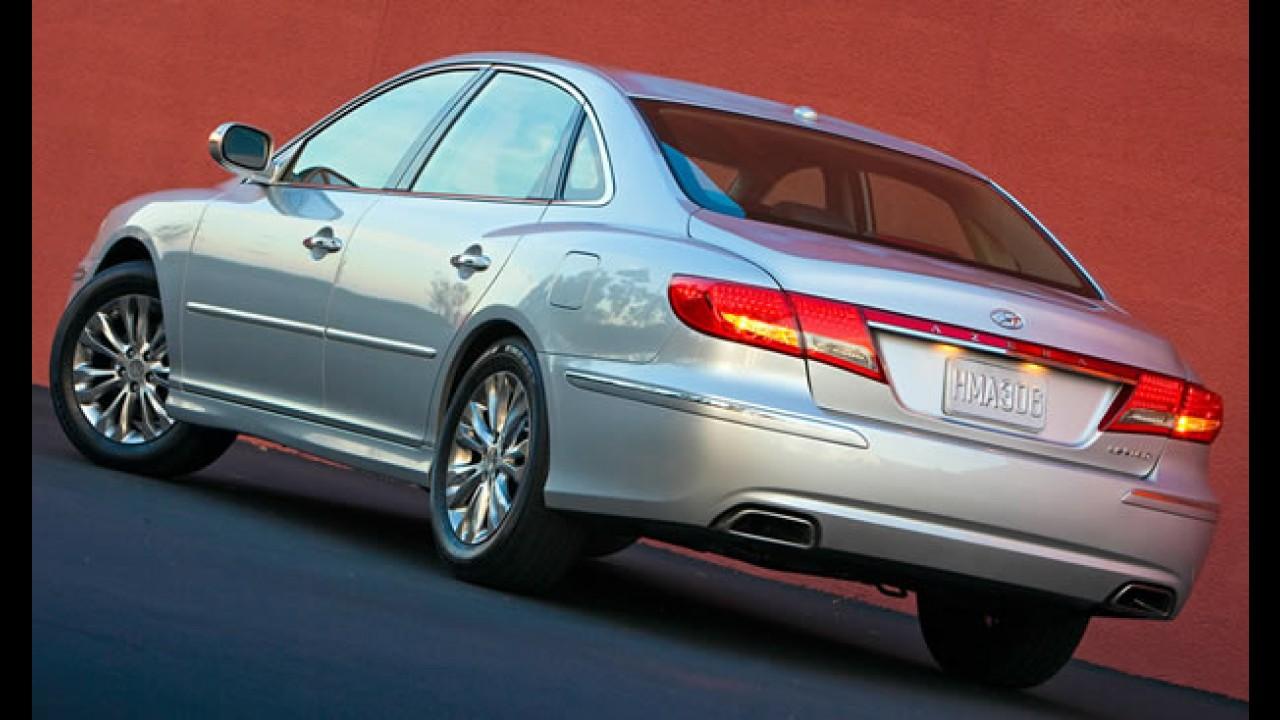 Hyundai mostra o Azera 2011 no Salão de Chicago - Motor V6 fica mais econômico