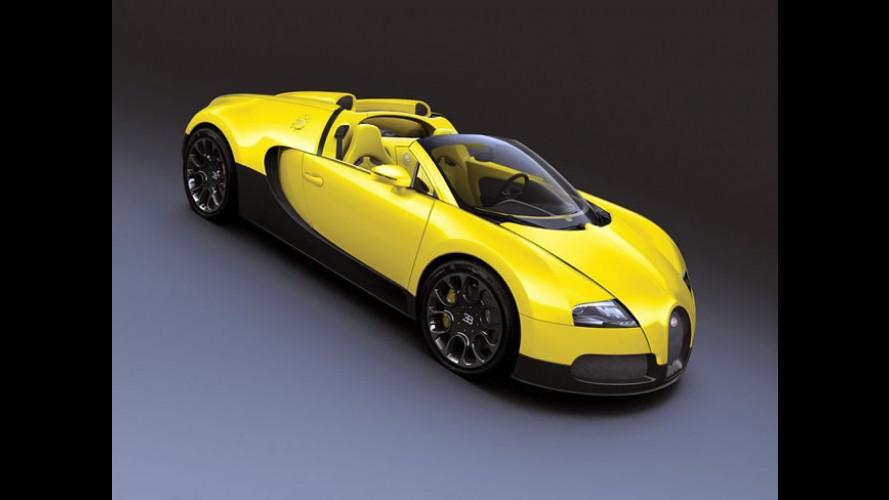Bugatti Veyron Grand Sport cria 3 versões especiais únicas para Dubai