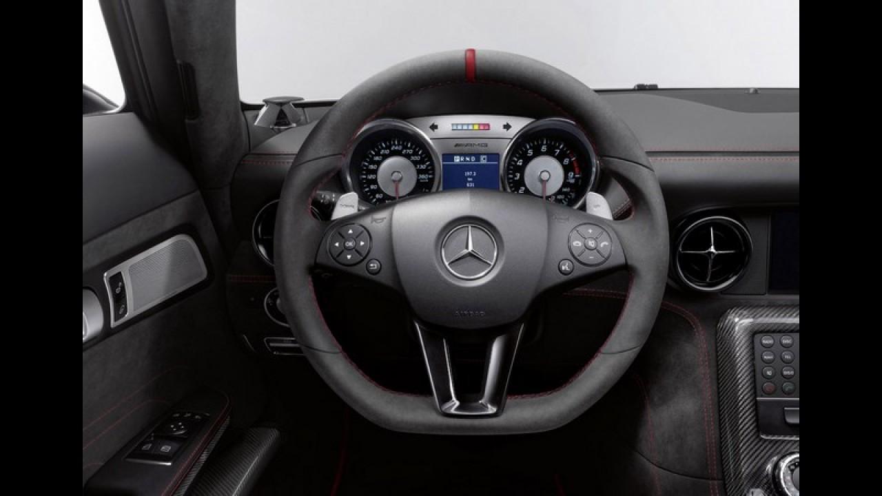 Mercedes-Benz finalmente revela o SLS AMG Black Series