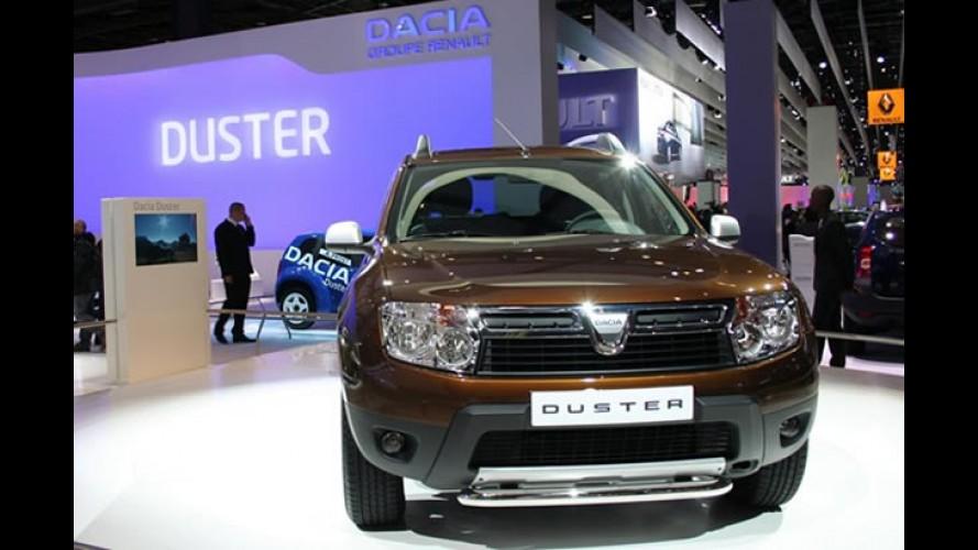 França, agosto: Renault Clio lidera e Dacia Duster garante lugar no top 10