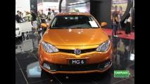 MG Motors inaugura concessionária em SP e lança modelos MG550 e MG6