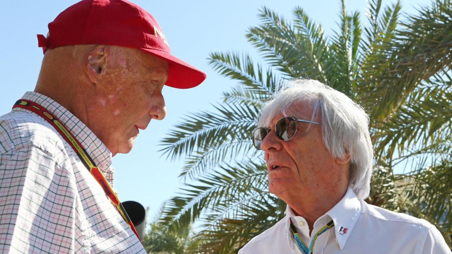 Lauda rules out replacing Ecclestone