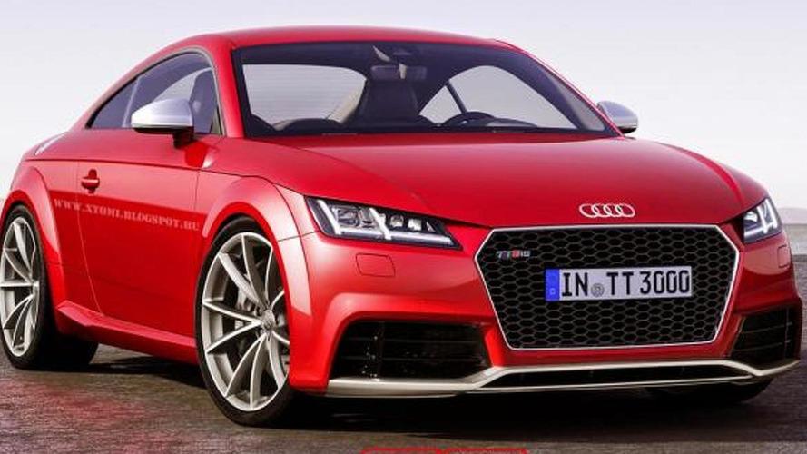 Audi TT RS render shows potential look