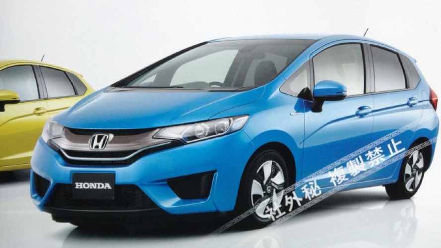 2014 Honda Fit / Jazz leaked?