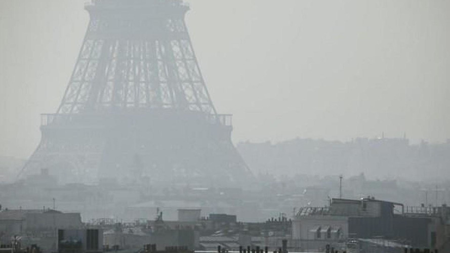 Paris initiates partial car ban amid high pollution