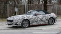 2018 BMW Z4 spy photo