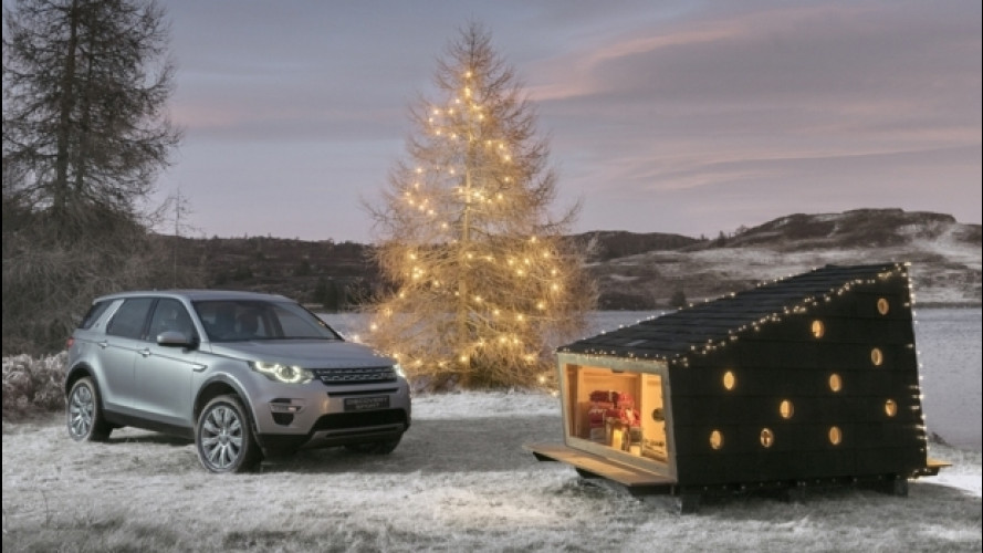 Land Rover, nel Discovery Sport entra il rifugio di Babbo Natale [VIDEO]
