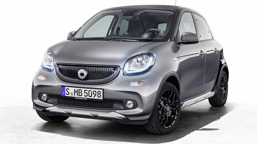 smart forfour crosstown edition 2018: apariencia SUV