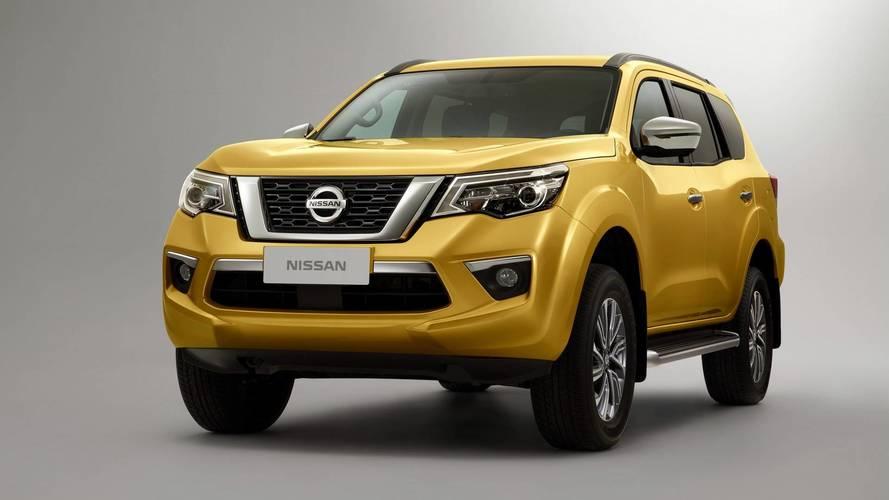 Nissan Terra - As primeiras imagens do SUV da Frontier