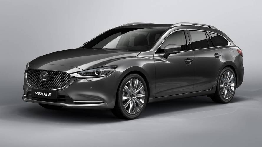 Mazda6 Tourer to debut at Geneva Motor Show 2018