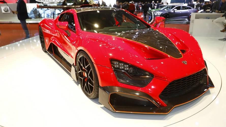 Zenvo TSR-S Live From Geneva Motor Show