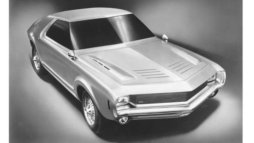 Automotive designer Richard Teague's creations
