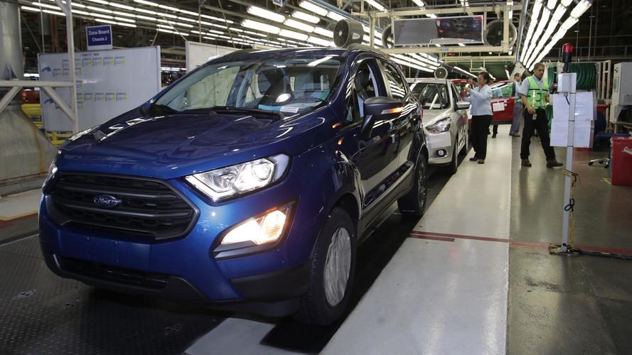 Ford celebra 3 milhões de carros produzidos em Camaçari (BA)