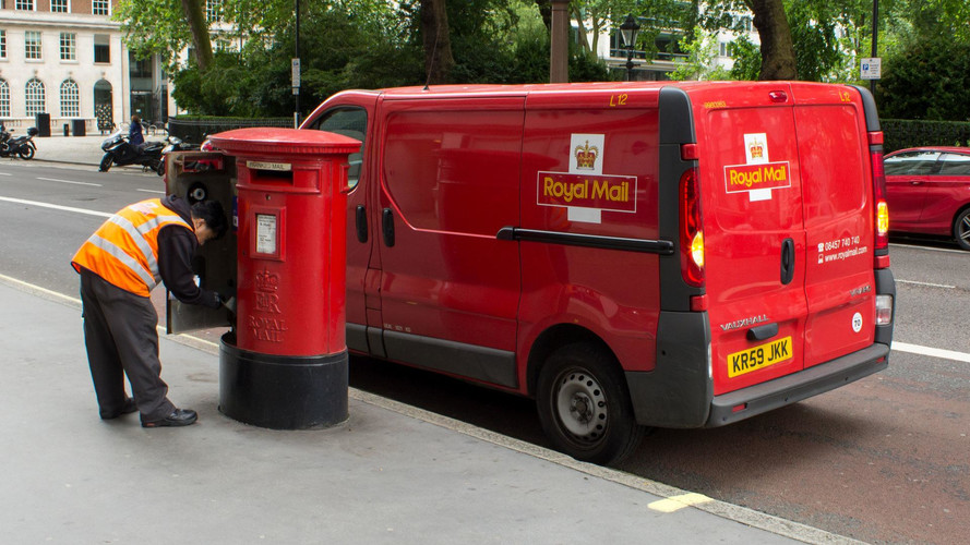 Royal Mail Post Vans Going Green In Electric Switchover