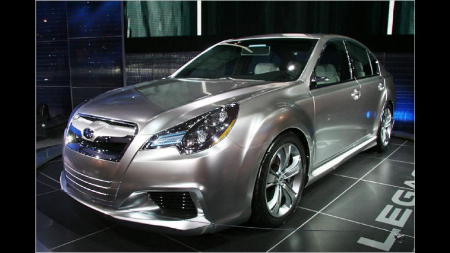 Subaru Legacy Concept debütiert in Detroit