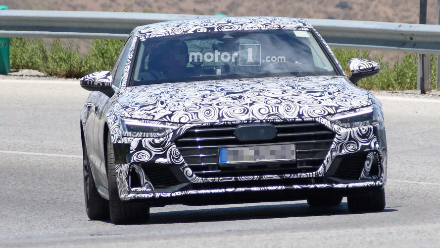 2018 Audi S7 Spy Photos