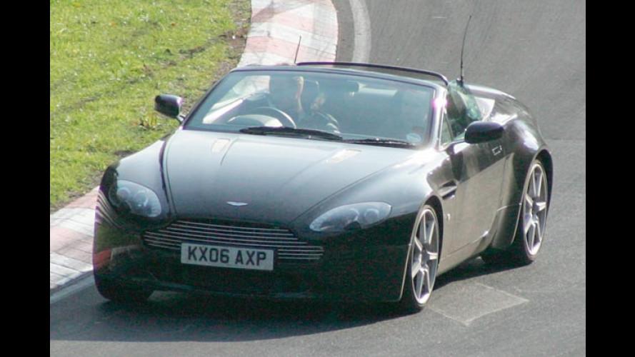 Ungetarnter Erlkönig: Neues Aston Martin Cabriolet erwischt