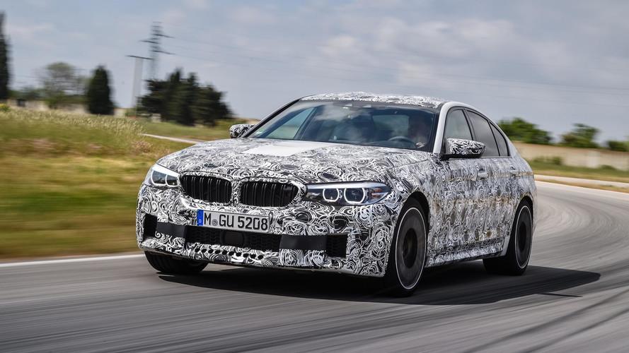Teaser: BMW M5 21 Ağustos'ta tanıtılacak