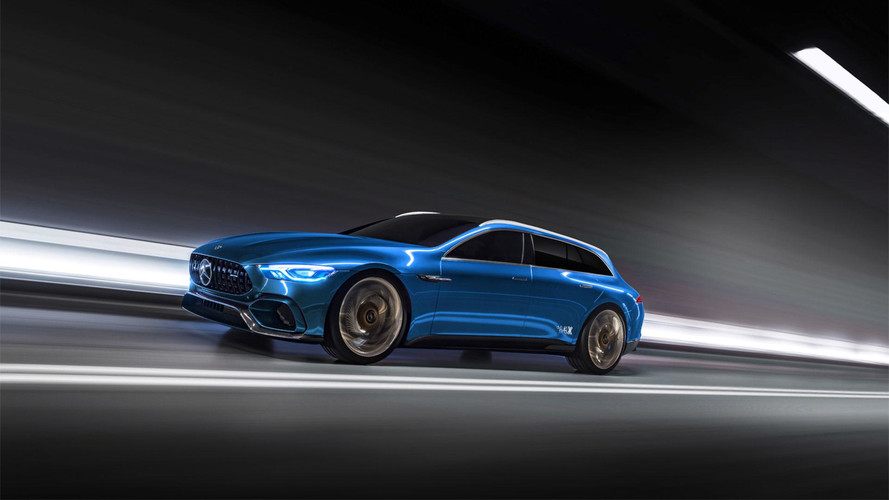Should Mercedes Build An AMG GT Concept Wagon?