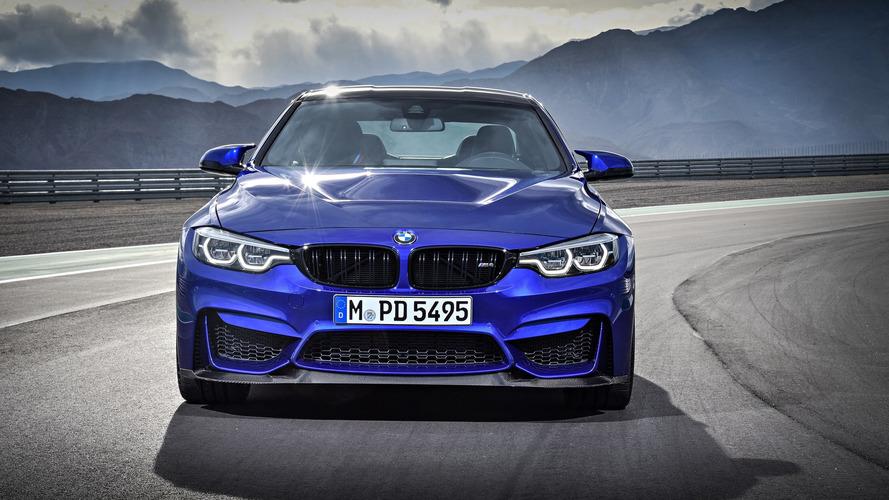 VIDÉO – La BMW M4 CS entre en scène