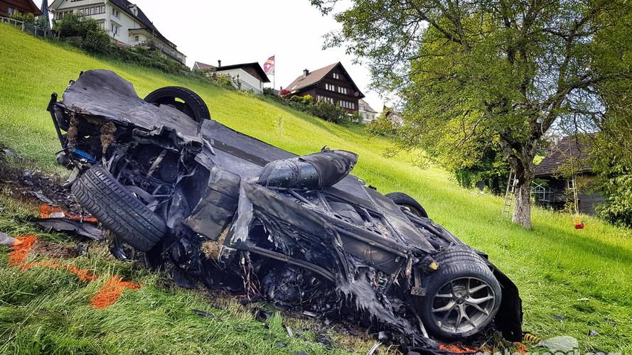 5 napig égett a Richard Hammond által összetört Rimac Concept One