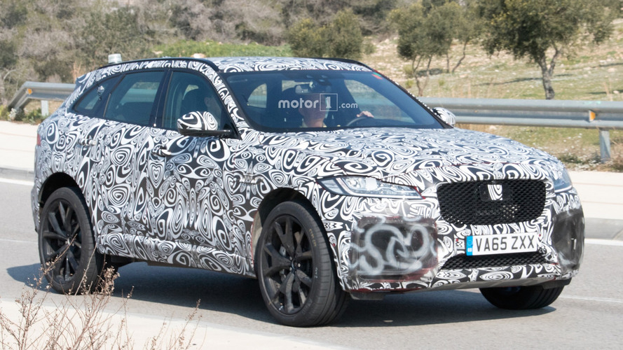 Jaguar's F-Pace gets the SVR treatment in this Nürburgring video