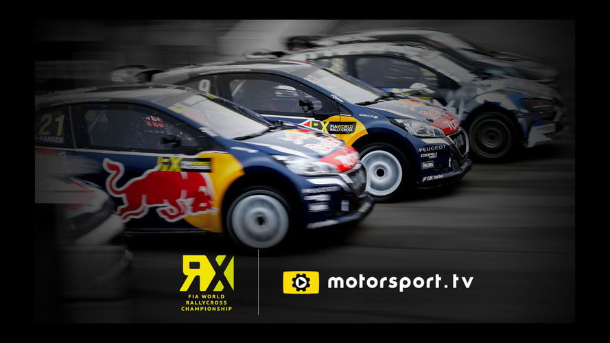 to exclusively broadcast fia world rallycross championship live in uk ireland. Black Bedroom Furniture Sets. Home Design Ideas