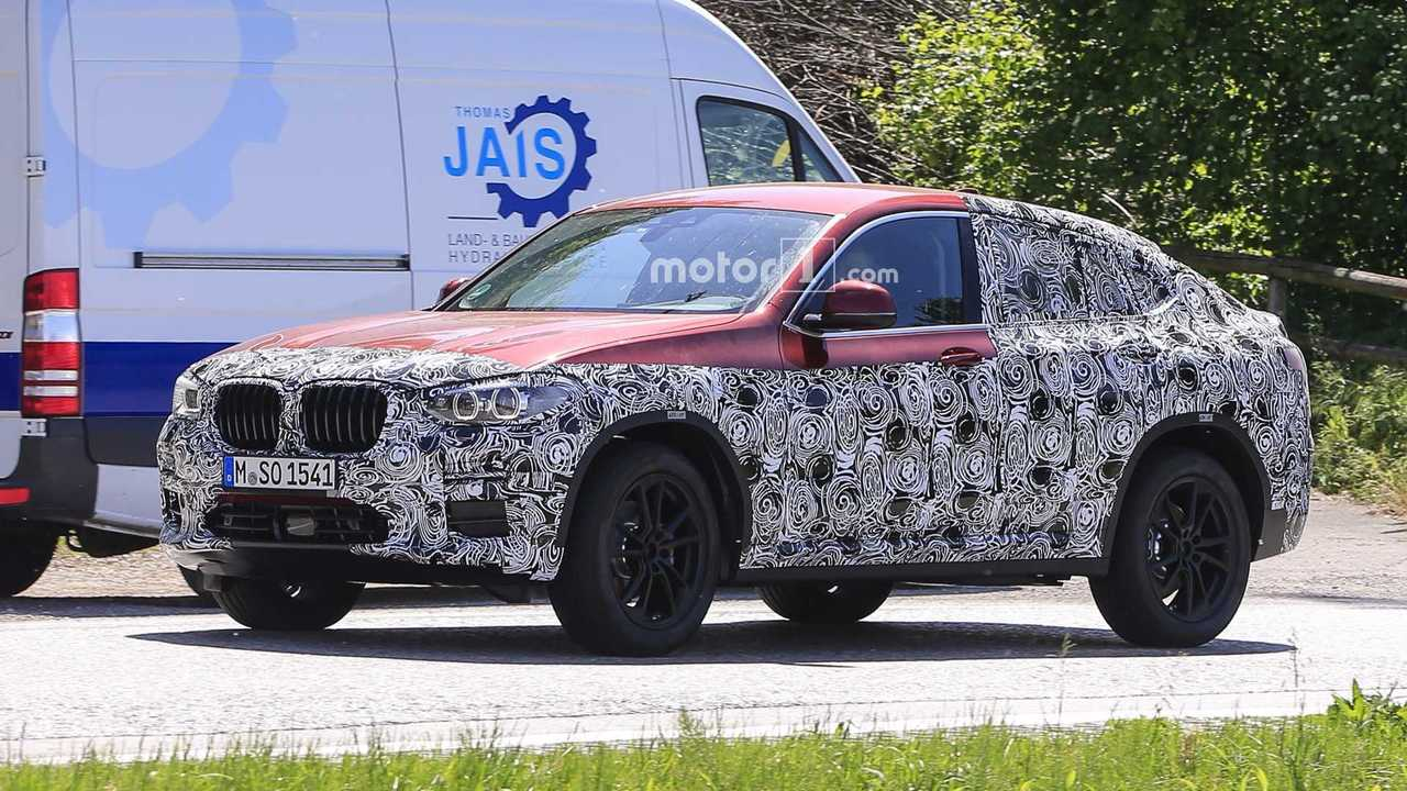 2019 bmw x4 new spy shots photos. Black Bedroom Furniture Sets. Home Design Ideas