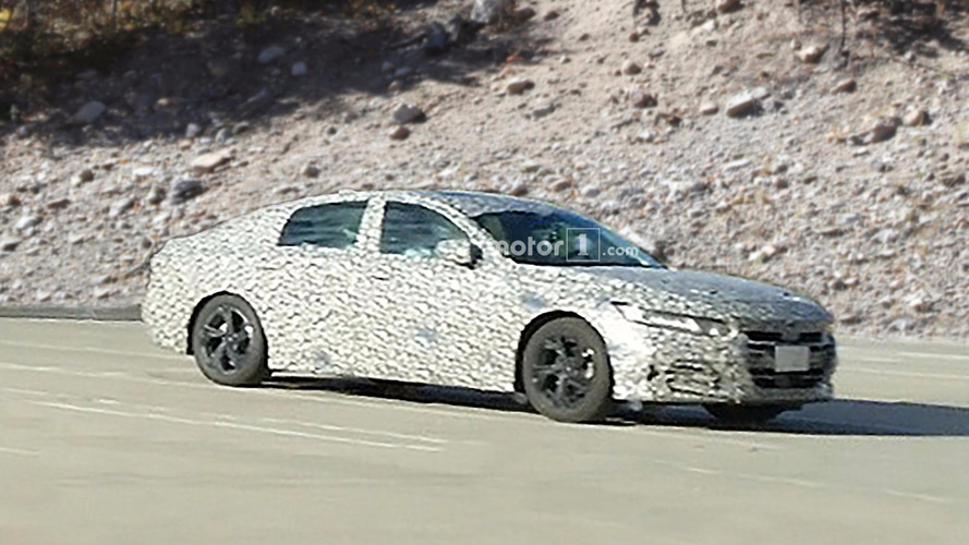 Honda Accord Spied In New Camo, Best Look At It Yet