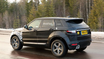 2019 Range Rover Evoque spy photo