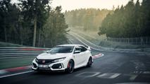 Honda Civic Type R takes down Nurburgring lap record for a FWD car