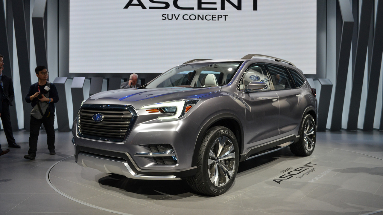 Subaru Ascent Concept - New York 2017 photo