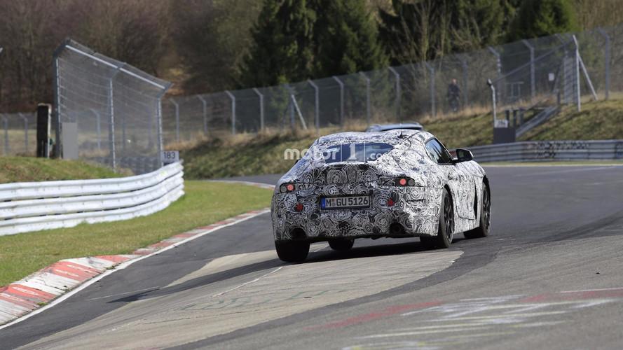 2018 Toyota Supra Nürburgring casus fotoğrafları