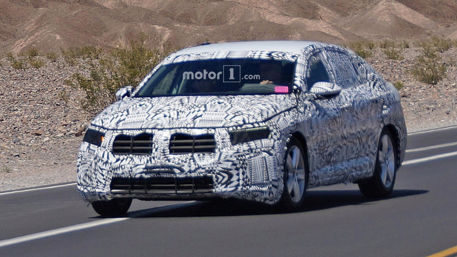 2018 VW Jetta U.S. Version spy photos