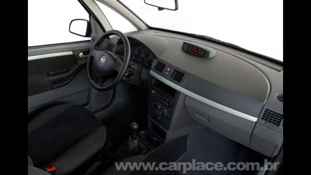 Chevrolet Meriva 2009 ganha motor 1.4 Econo.Flex, novo visual e nova versão