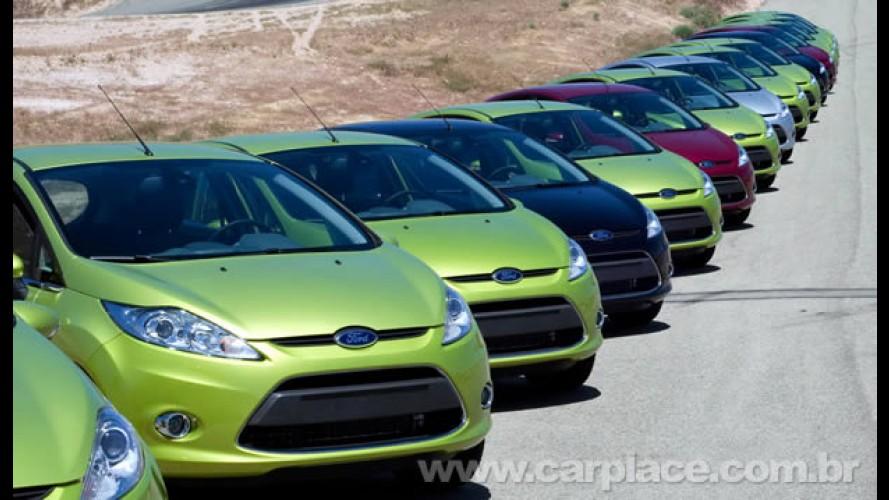 Novo Ford Fiesta ultrapassa a marca de 500 mil unidades vendidas em apenas 1 ano