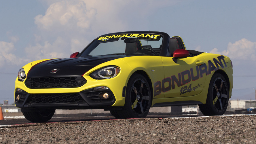 Fiat 124 Spider Abarth buyers get free driving school