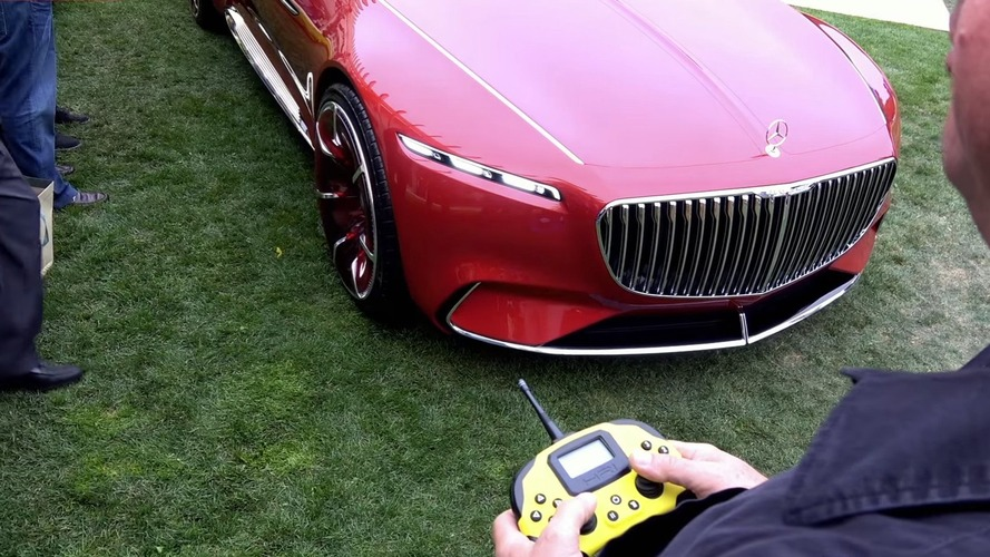 Watch the Vision Mercedes-Maybach 6 being driven remotely