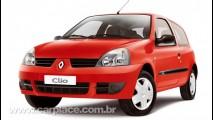 Renault lança linha Clio Campus 2010 por R$ 25.090 iniciais e mais itens disponíveis