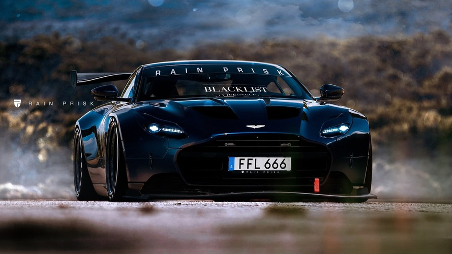 We can only hope an Aston Martin DB11 race car would look this good