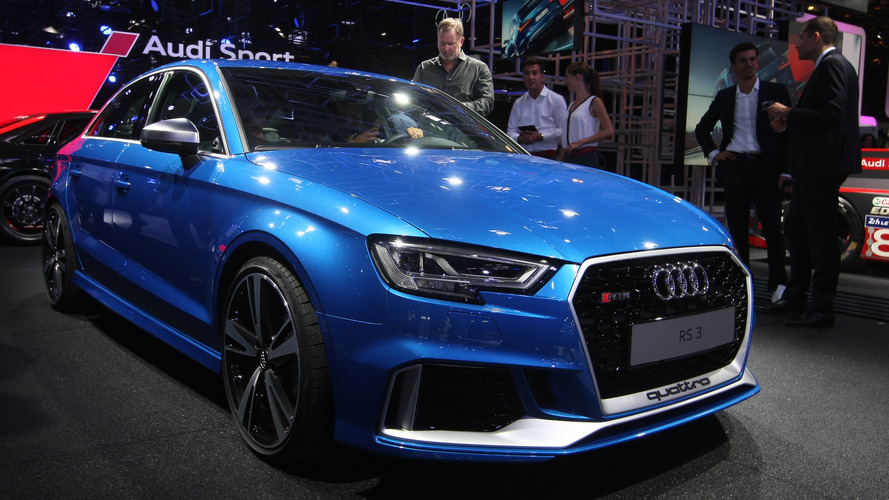 Audi RS3 Sedan with 400 hp debuts in Paris, arrives next summer