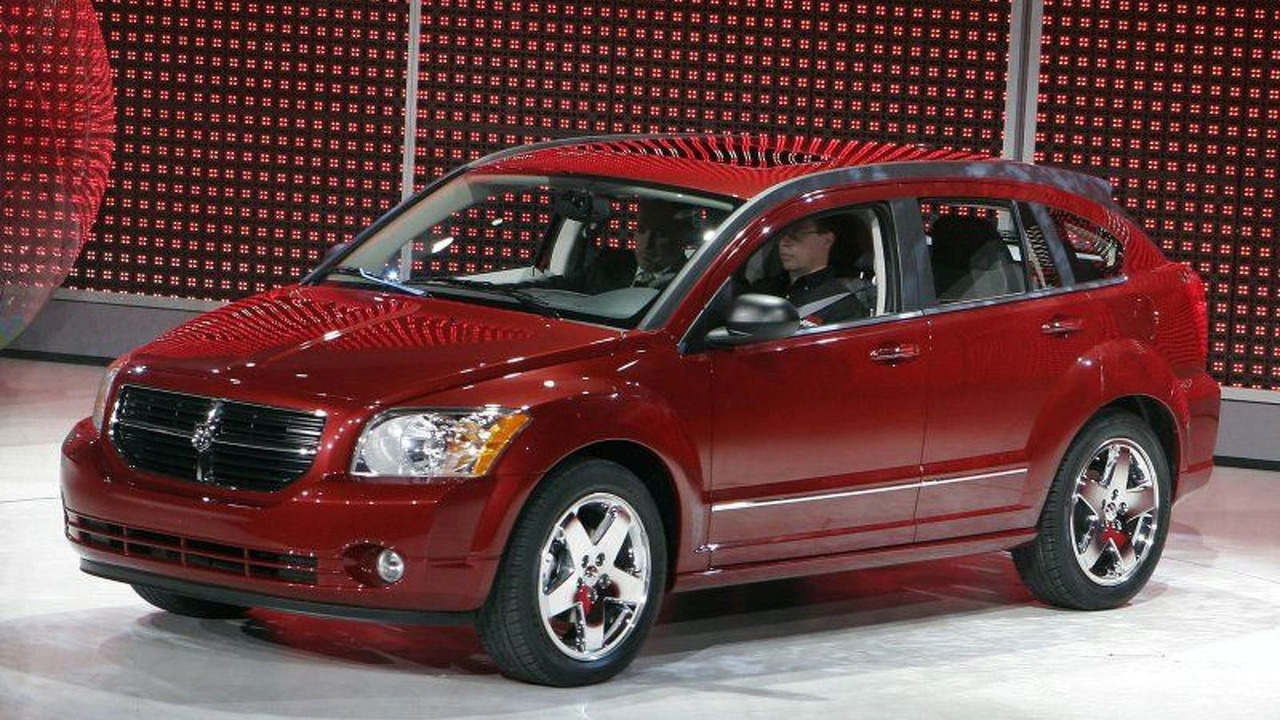 2007 Dodge Caliber at 2006 NAIAS