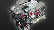 Mercedes-AMG 6.3 Liter Naturally Aspirated V8 Unveiled