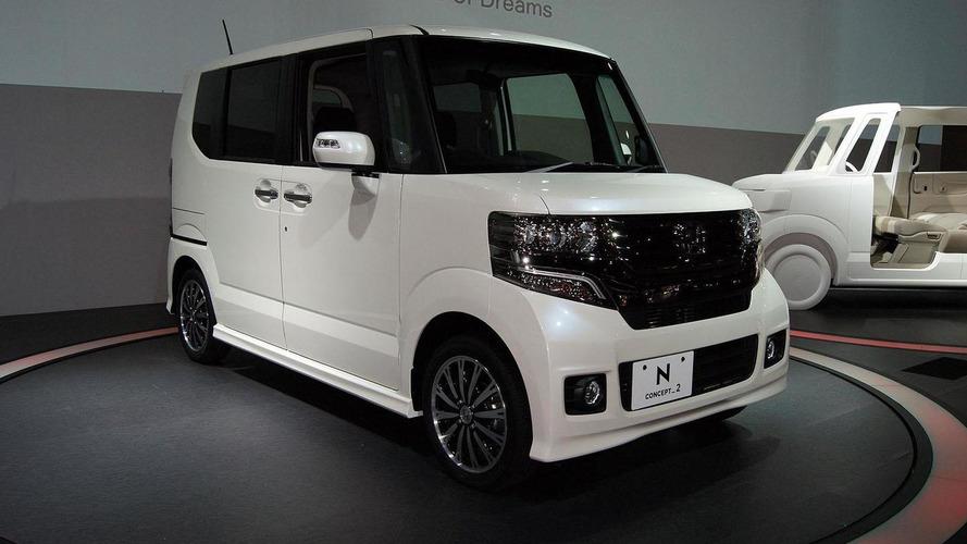 Honda N BOX debuts in Tokyo