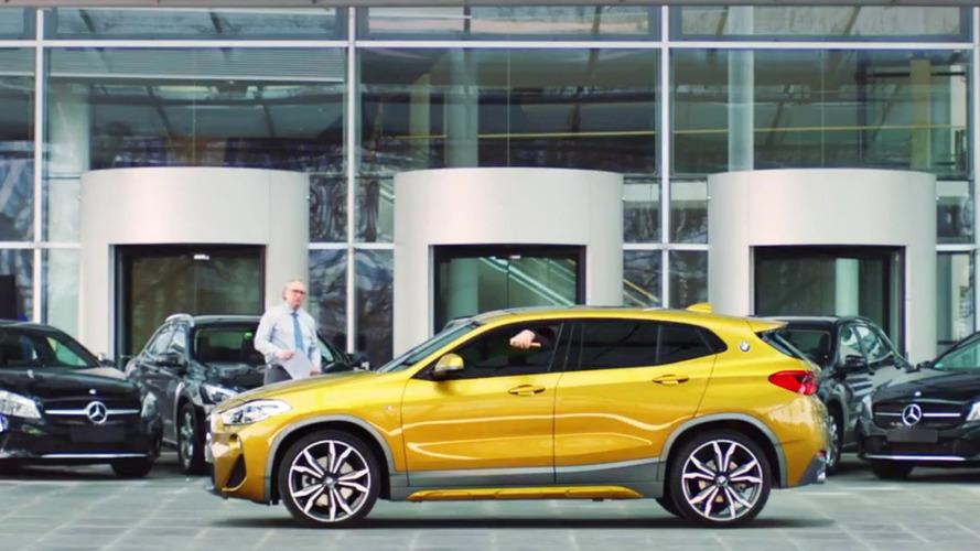 VIDÉO - BMW tacle Mercedes-Benz avec humour dans une publicité