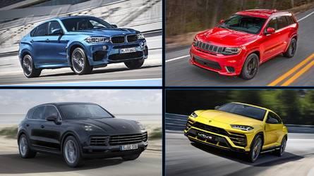 8 SUV que aceleran tan rápido como un deportivo