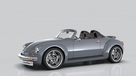 The Memminger Roadster – a beautiful look into the future, via the past
